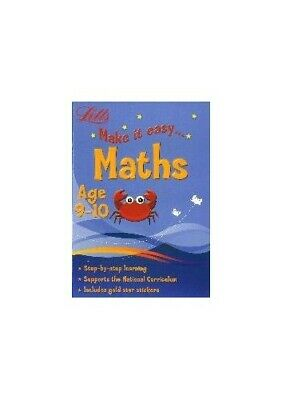 Maths Age 9-10 (Letts Make It Easy) by Letts Book The Cheap Fast Free Post