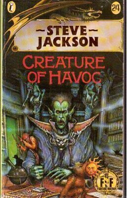 Creature of Havoc: Fighting Fantasy Gamebook 24 (... by Steve, Jackson Paperback