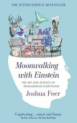 Moonwalking with Einstein: The Art and Science of R... by Foer, Joshua Paperback