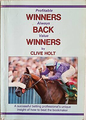 Winners Back Winners by Clive Holt Book The Cheap Fast Free Post