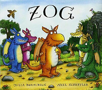 Zog by Donaldson, Julia Hardback Book The Cheap Fast Free Post