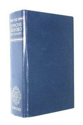 The Concise Oxford Dictionary of Current English Hardback Book The Cheap Fast