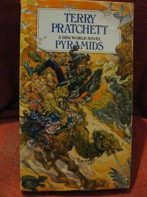 Pyramids by Terry Pratchett Book The Cheap Fast Free Post
