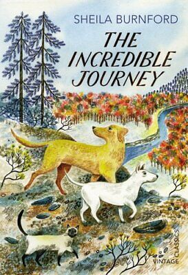 The Incredible Journey (Vintage Childrens Classics) by Burnford, Sheila Book The