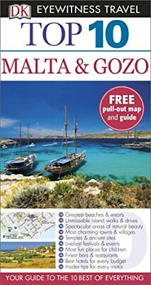 Top 10 Malta and Gozo (DK Eyewitness Travel Guide) by DK Travel Book The Cheap