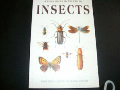 A Field Guide in Colour to Insects by Jiri Zahradnik Paperback Book The Cheap