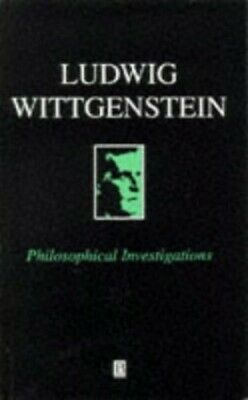 Philosophical Investigations by Ludwig Wittgenstein Paperback Book The Cheap
