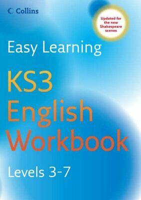 Easy Learning - KS3 English Workbook Levels 3-7 by English, Lucy Paperback Book