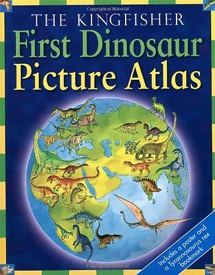 First Dinosaur Picture Atlas, n/a Hardback Book The Cheap Fast Free Post