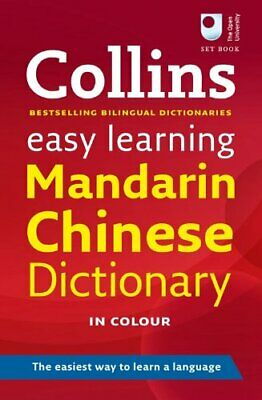 Easy Learning Mandarin Chinese Dictionary (... by Collins Dictionaries Paperback