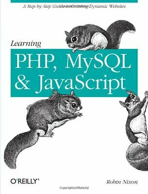 Learning PHP, MySQL, and JavaScript by Robin Nixon Paperback Book The Cheap Fast
