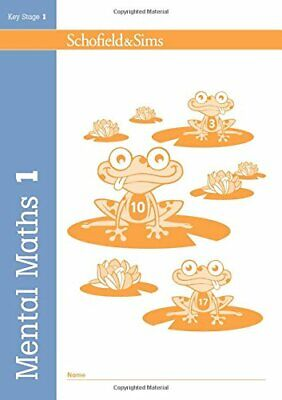 Mental Maths Book 1 (of 2): Key Stage 1, Years 1 & 2 by Paul Martin Paperback