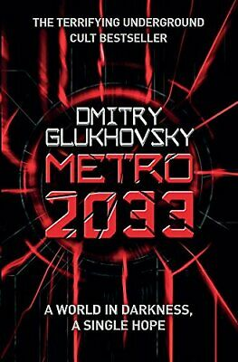 Metro 2033 by Dmitry Glukhovsky Paperback Book The Cheap Fast Free Post