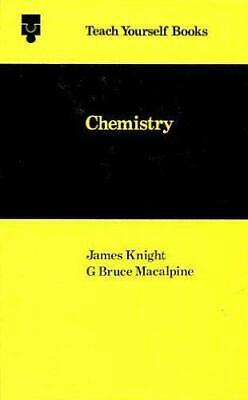 Chemistry (Teach Yourself) by Knight, James Hardback Book The Cheap Fast Free