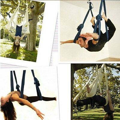 Yoga Swing Sling Trapeze Hammock For Gym Sex Yoga Exercise Train Pilates Tension