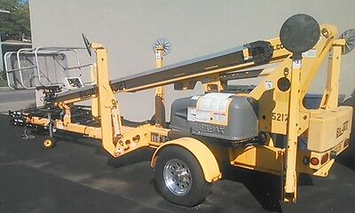 2006 Bil Jax 3532T Towable Boom Manlift with LOW HOURS!-Nice