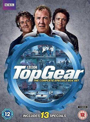 TOP GEAR UK 2007-2015 COMPLETE Specials / Great Adventures - 13x R2/4 DVD not US