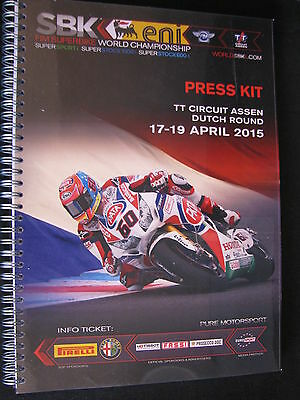 Press Kit FIM Superbike World Championship Assen, Press Review 18th April 2015 3