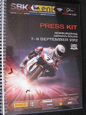 Press Kit FIM Superbike World Championship Nürburgring German Round 2012