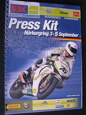 Press Kit FIM Superbike World Championship Nürburgring German Round 2010