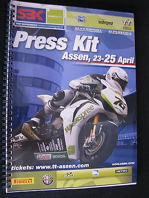 Press Kit FIM Superbike World Championship TT Circuit Assen Dutch Round 2010