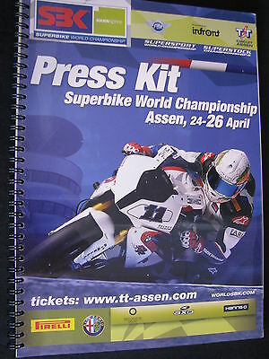 Press Kit FIM Superbike World Championship TT Circuit Assen Dutch Round 2009