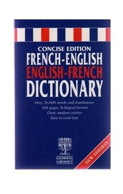 Pocket Reference French/English Dictionary Paperback Book The Cheap Fast Free