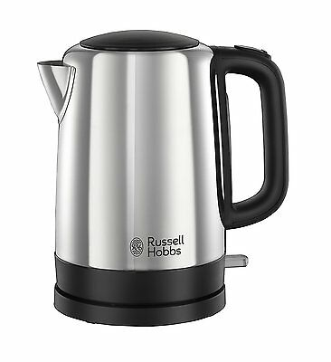 Russell Hobbs Canterbury 3kw Polished Stainless Steel Kitchen Home Jug Kettle