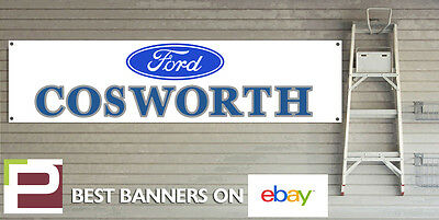 Ford Cosworth Workshop Garage Banner, RS, Escort, Sierra