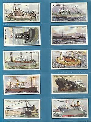 Wills cigarette cards - STRANGE CRAFT - Full mint condition set.