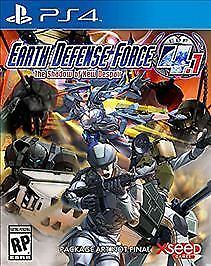Earth Defense Force 4.1:shadow Of New Despair Ps4 Act New Video Game