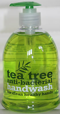 TEA TREE ANTI BACTERIAL  - Hand Wash - For Clean Healthy Hands - 500ML