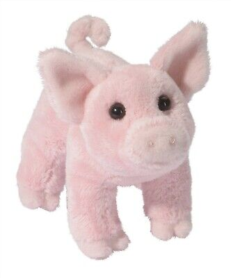 Douglas Cuddle Toys Buttons the Pig # 1521 Stuffed Animal Toy