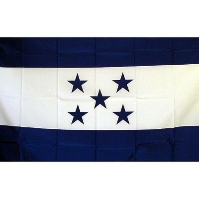 Honduras Country flag Banner Sign 3' x 5 Foot  Polyester With Grommets