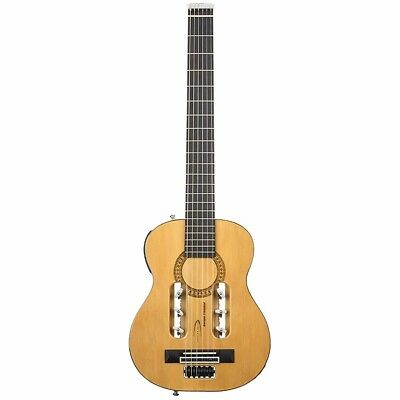 Traveler Escape Classical Acoustic-Electric Travel Guitar, Natural + Ships Free