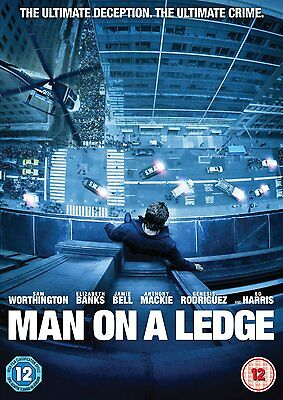 Man On A Ledge DVD (Jamie Bell) Disc Only No Case Or Cover