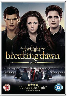 Twilight Breaking Dawn Part 2 DVD Disc Only No Case Or Cover