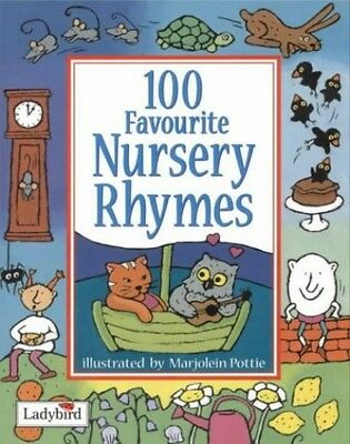 100 Favourite Nursery Rhymes (Toddler Rhymetime) Paperback Book The Cheap Fast