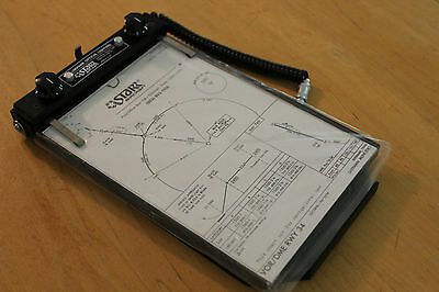 Starr Aircraft Lumipane Optical Lighting F1080-1000R Map/chart Holder