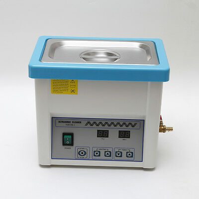 Dental Lab Ultrasonic Cleaning Cleaner Digital for Handpiece Turbine Jewelry 5l