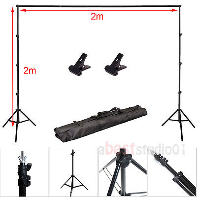 Adjustable Background Support Stand Photo Backdrop Crossbar Photo Kit