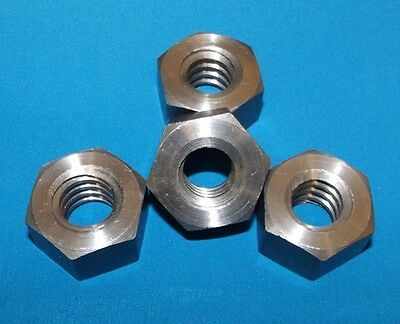 304060-nut 3/4-6 acme hex nut, steel 4 pack for acme right hand threaded rod