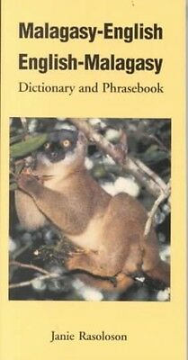 Malagasy-English, English-Malagasy: Dictionary and Phrasebook by Janie Rasoloson