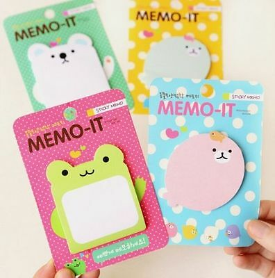 FD2418 Cartoon Sticker Post It Bookmark Mark Index Tab Memo Sticky Notes 1pc