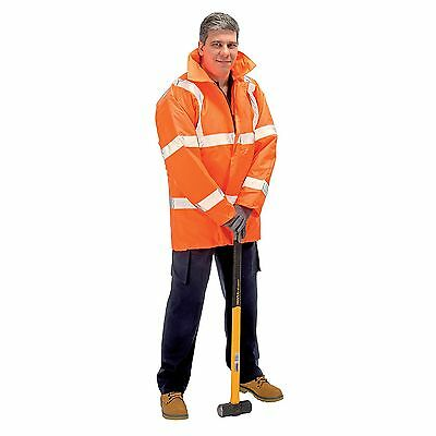 Draper Expert High Visibility Traffic Jacket, En471/En343 Class 3, Size XL 27459