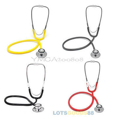 New Doctor Nurses Dual Head EMT Clinical Stethoscope Medical Auscultation Device