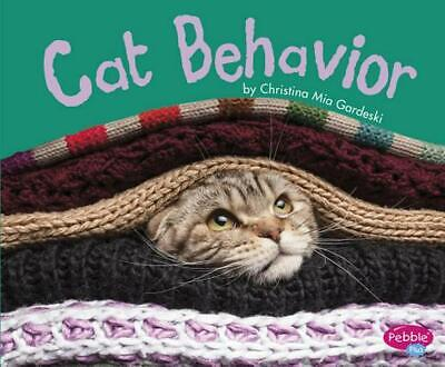 Cat Behavior by Christina MIA Gardeski (English) Library Binding Book Free Shipp