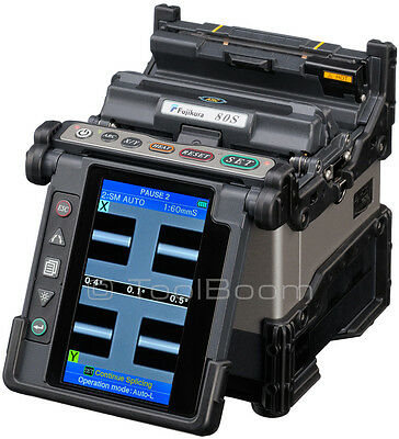 "New Fujikura 80S Fusion Splicer with CT-30A Cleaver ""Kit-A"" Plus"