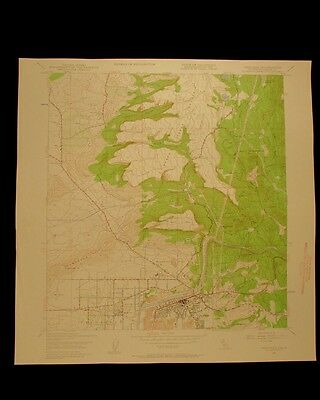 Oroville California Thermalito vintage 1959 original USGS Topographical chart
