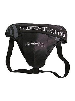 New Powertek Barikad ice hockey goalie goal jock cup strap protector senior sr